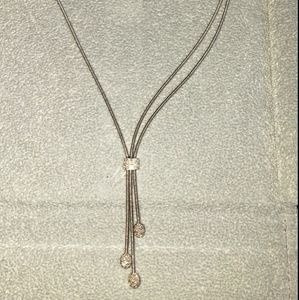 Marco Bicego Santorini diamond and white gold neck